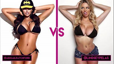 Abigail Ratchford vs Lindsey Pelas: Who's got the largest tits?