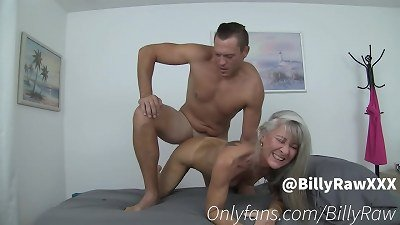 granny Leilani Lei Gets fucked On rubdown Table