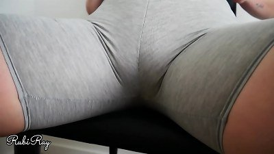 She Just likes Getting internal cumshot in Her exercise pants