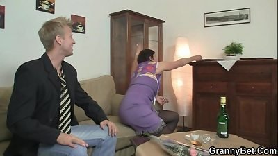 old mommy luvs riding rock-hard cock